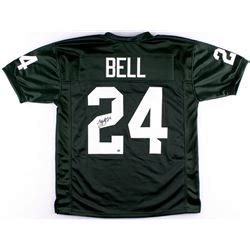 Michigan Coa Search Le Veon Bell Signed Michigan State Jersey Tse Coa
