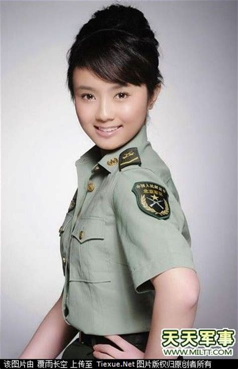 chinese military uniform girl the uniform girls december 2012