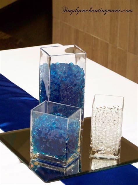 Sapphire Blue Wedding centerpieces   Wedding Centerpieces