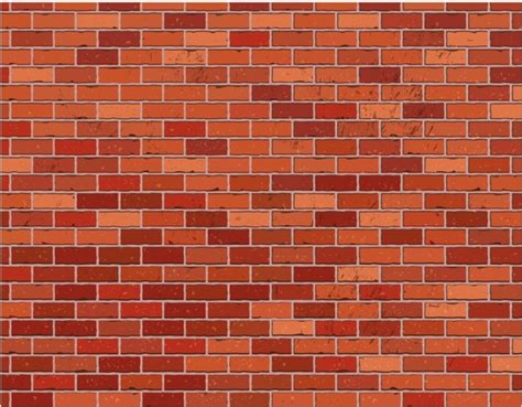 stone wall pattern illustrator red brick wall seamless free vector in adobe illustrator