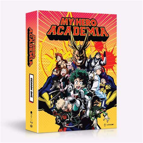 My Academia Set 1 my academia season 1 limited edition dvd