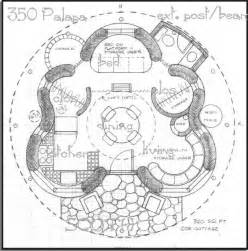 Round House Floor Plan Round House Plans 350 Sq Ft Palapa Elevation