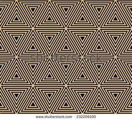 pattern based artists gold on black seamless geometric pattern based on