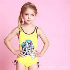 maillot de bain lovely zebra printed swimsuit maillot de bain enfant