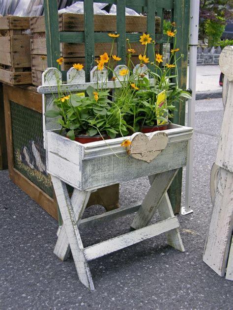 ideas de decoracion de jardin  maceteros grandes