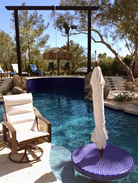 rope swing into pool rope swing check in pool table check outside pinterest