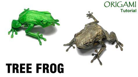 Origami Tree Frog - origami tree frog tutorial satoshi kamiya 折り紙 アマガエル