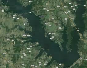 map of lake fork lake fork map and info
