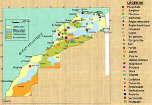 mines et min 233 raux du maroc ecologie ma