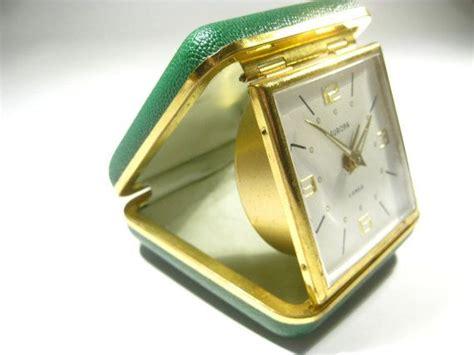 vintage mid century german europa  jewels travel clock flirty sanchez vintage vintage