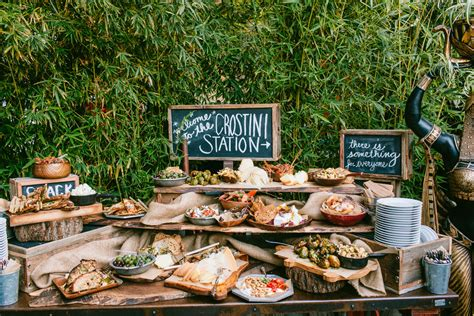 wedding menu stations 01 24 unconventional wedding foods your guests will obsess