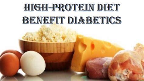a protein diet high protein diet benefit diabetics