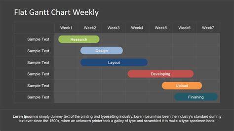 powerpoint gantt chart template slidemodel editable gantt chart for powerpoint slidemodel