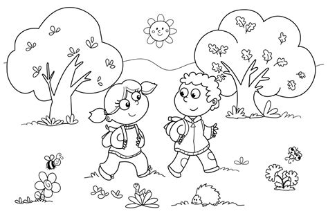 Printable Coloring Pages Kinder | free printable kindergarten coloring pages for kids