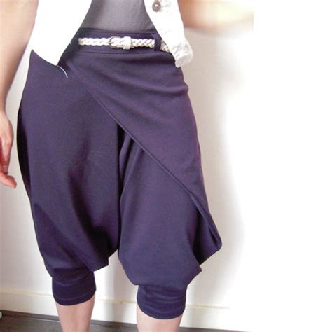 pattern harem pants wrap harem pants sewing projects burdastyle com