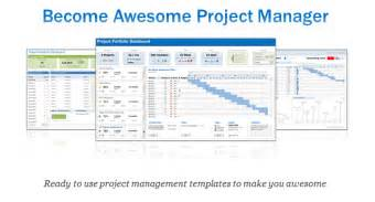 free program management templates excel project portfolio management templates