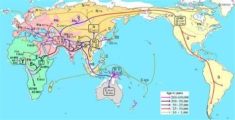 wiki rutas file migraciones humanas en haplogrupos de adn y png 维基