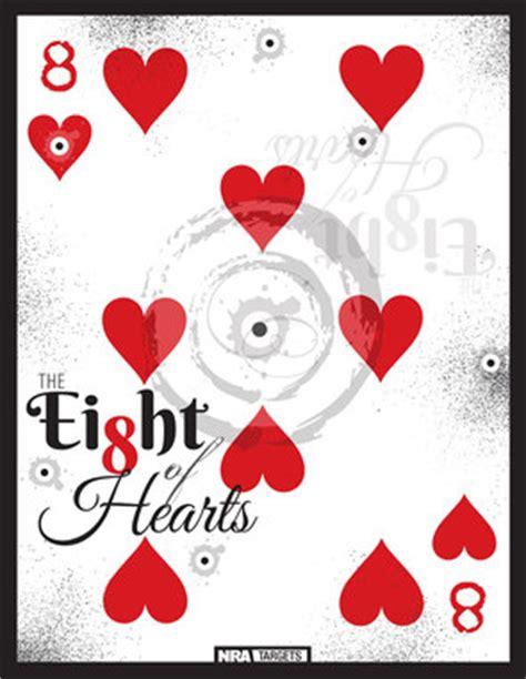 printable playing card targets free printable super sized playing card targets 171 daily
