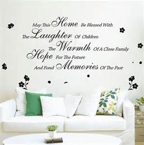 may this home wall quotes wall stickers living room uk