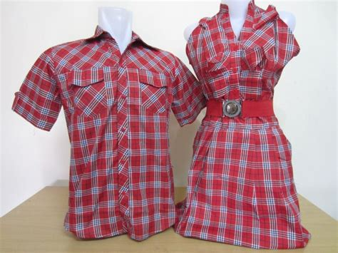 Dress Kid Arcia Merah kemeja dress singlet belt merah pusatkaoscoupleku