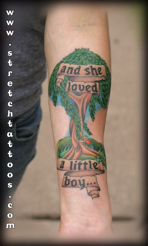 shel silverstein tattoo quot the giving tree quot by shel silverstein tattoos