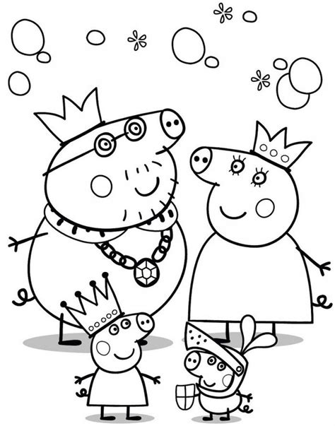 peppa pig valentines coloring page pictures of peppa pig az coloring pages