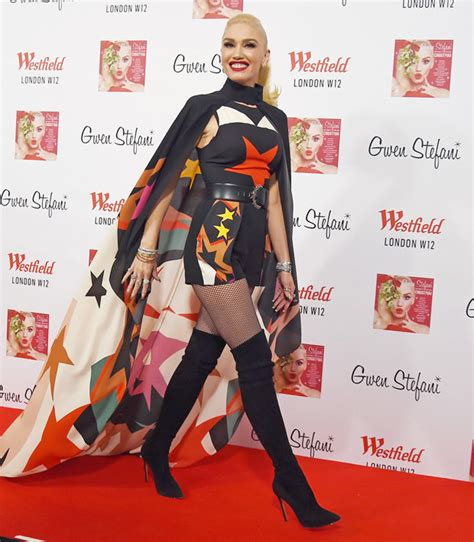 Beckham And 4000 Thongs by Gwen Stefani 48 Defies Age In Knee High Boots And