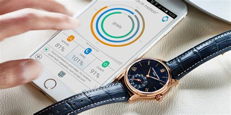 Handmade Swiss Watches Manufacturers - frederique constant offers new horological smartwatch