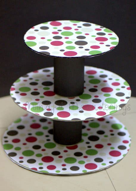 Home Decor Products In India diy 3 tier cupcake stand artsy craftsy mom
