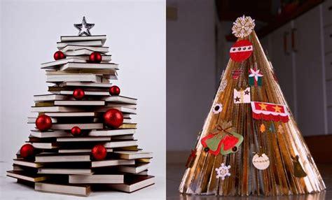 imagenes navidad y libros arboles de navidad muy originales