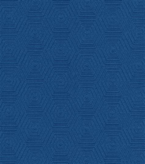 Hgtv Upholstery Fabric by Upholstery Fabric Hgtv Home Hex Appeal Cobalt Jo