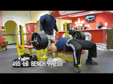 derek poundstone bench press derek poundstone trains chest bench press doovi