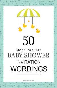25 best ideas about baby shower invitation wording on baby shower greetings baby