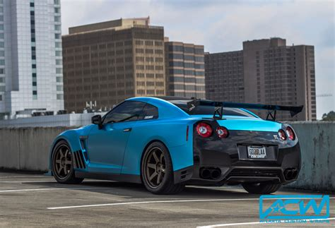 nissan gtr wrapped red 2014 nissan gtr pearl white to satin ocean shimmer