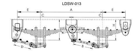 semi truck suspension diagram american semi trailer suspension system truck go kart kit