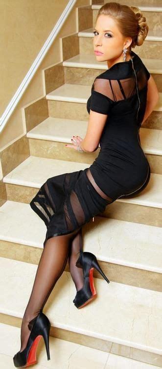 pin    black dress