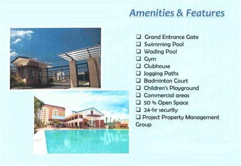 Apartment Amenities List Condominium Sucat Paranaque
