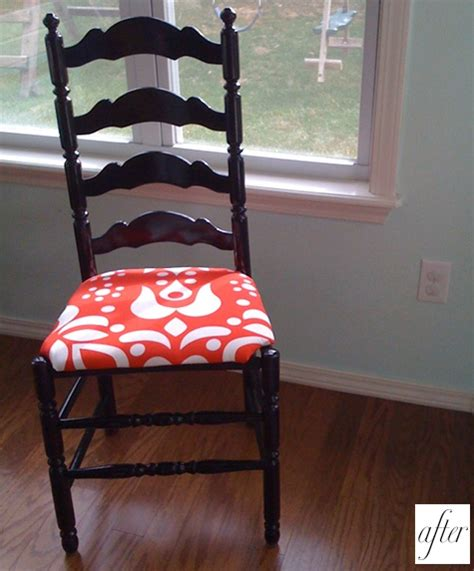 how to change upholstery on a chair before after carrie s dresser sarah s chair design