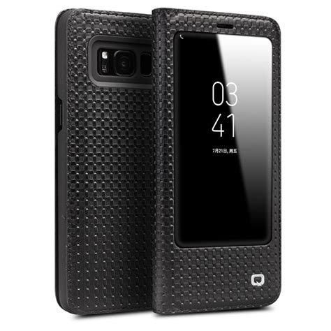 Ultrathin Samsung Galaxy S8 Plus S8 Ultra Thin Fit Softcase Silicon qialino fashion genuine leather cover for samsung