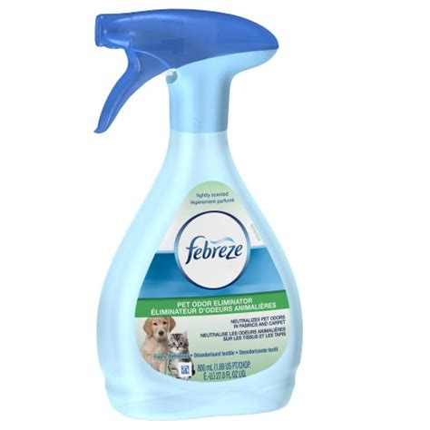 febreze sofa spray febreze pet odor eliminator lightly scented 27 oz jet