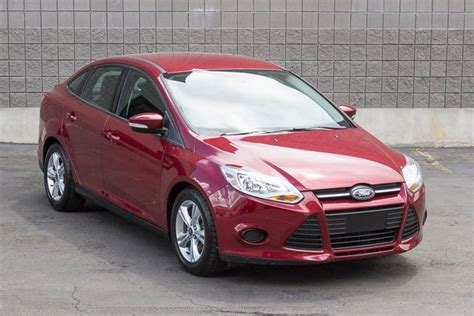 2014 Ford Focus Flex Fuel by 2014 Flex Fuel Ford Focus Sedan For Sale 14 Used Cars From