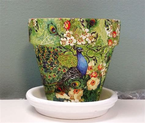 Decoupage Terracotta Plant Pots - decoupage terracotta plant pots 28 images items