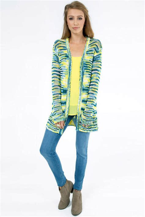 Outer Cardigans outer space dye knit cardigan 42 00 tobi