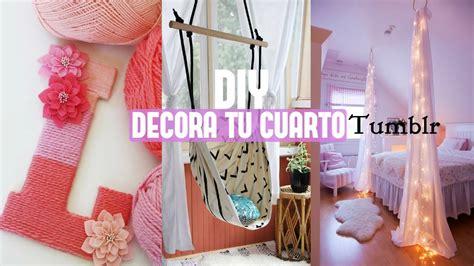 decora tu cuarto sin gastar mucho manualidades diy decoracion para tu cuarto tumblr