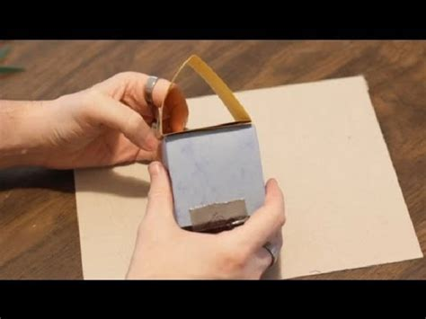 How To Make A Building Out Of Paper - how to make a house out of paper for paper crafts
