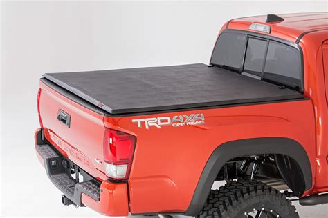 tacoma bed covers soft tri fold bed cover for 16 17 toyota tacoma rough