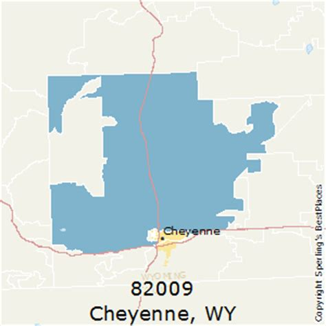 zip code map wyoming best places to live in cheyenne zip 82009 wyoming
