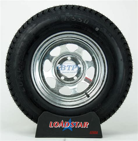 boat wheels and tires boat trailer tire st205 75d14 on galvanized wheel 5 lug