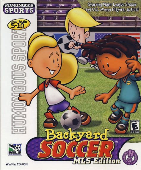backyard soccer mls edition for macintosh 2001 mobygames
