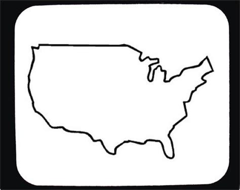us map outline clip outline of the united states clipart best